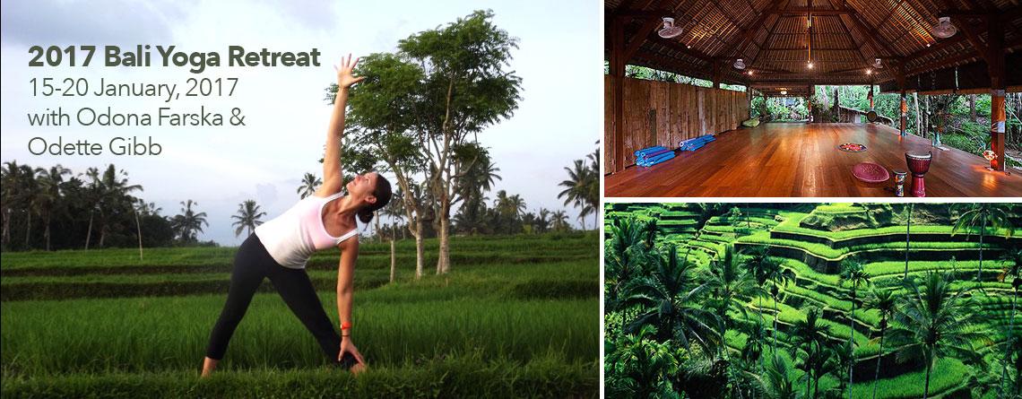 2017 Ubud Bali Yoga Retreat