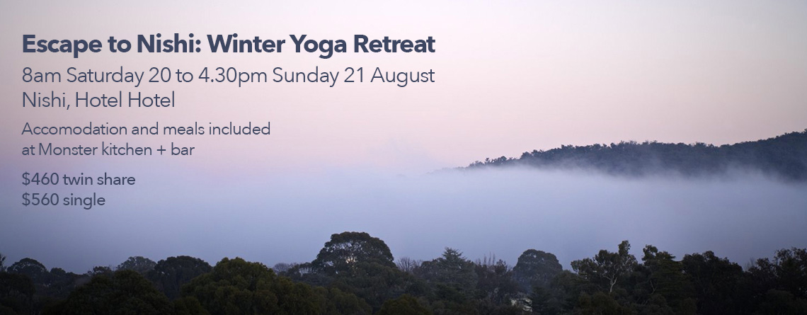 Escape to Nishi: Winter Yoga Retreat at Nishi