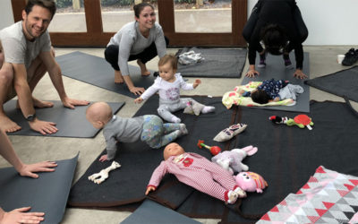 Baby Yoga Thursday at Nishi