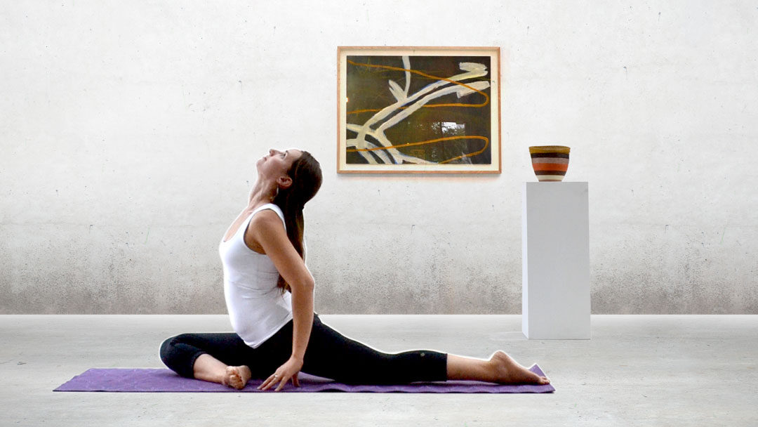 Yoga with Odona at the Nishi Gallery