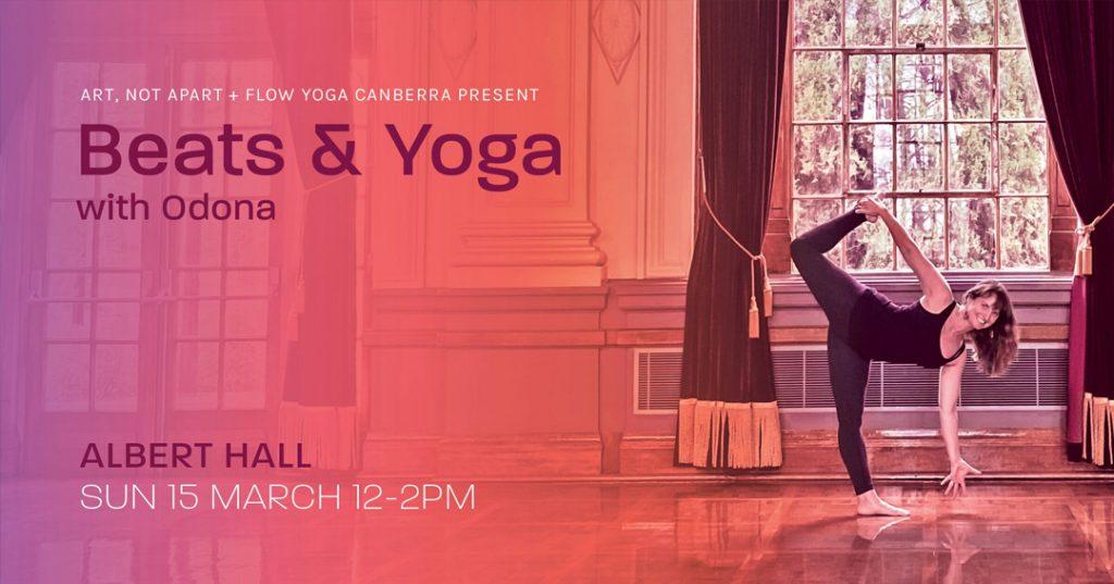 beats and yoga with odona