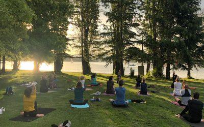 Wednesday Lennox Gardens Sunset Flow